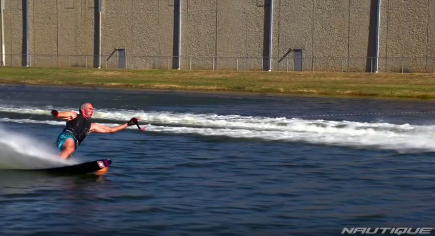 Andy Mapple Waterski Slalom Video Nautique ExtremaRD