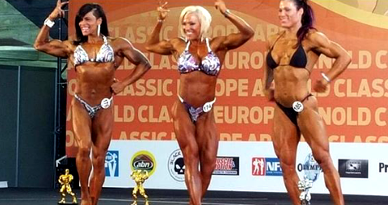 dominicana paola sanchez gana arnold classic eruope 2015 bodybuilding