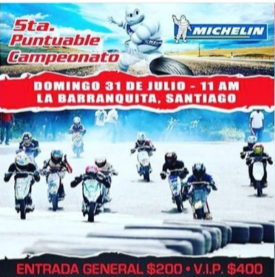 5ta puntuable michelin extremard