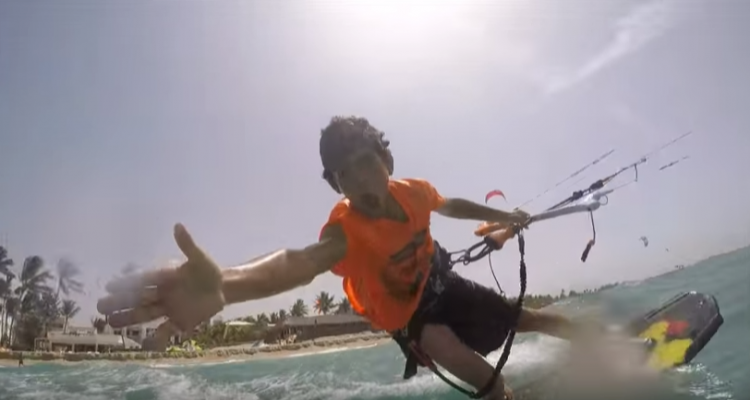 miguelito kitesurf video extremard