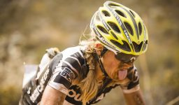 Sally Bigham reaches to top of a long and dusty climb during stage 4 of the 2015 Absa Cape Epic Mountain Bike stage race from HTS Drostdy in Worcester, South Africa on the 19 March 2015  Photo by Ewald Sadie/Cape Epic/SPORTZPICS  PLEASE ENSURE THE APPROPRIATE CREDIT IS GIVEN TO THE PHOTOGRAPHER AND SPORTZPICS ALONG WITH THE ABSA CAPE EPIC